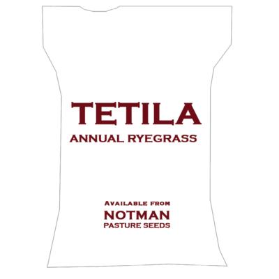 Tetila Annual Ryegrass Notman Pasture Seeds